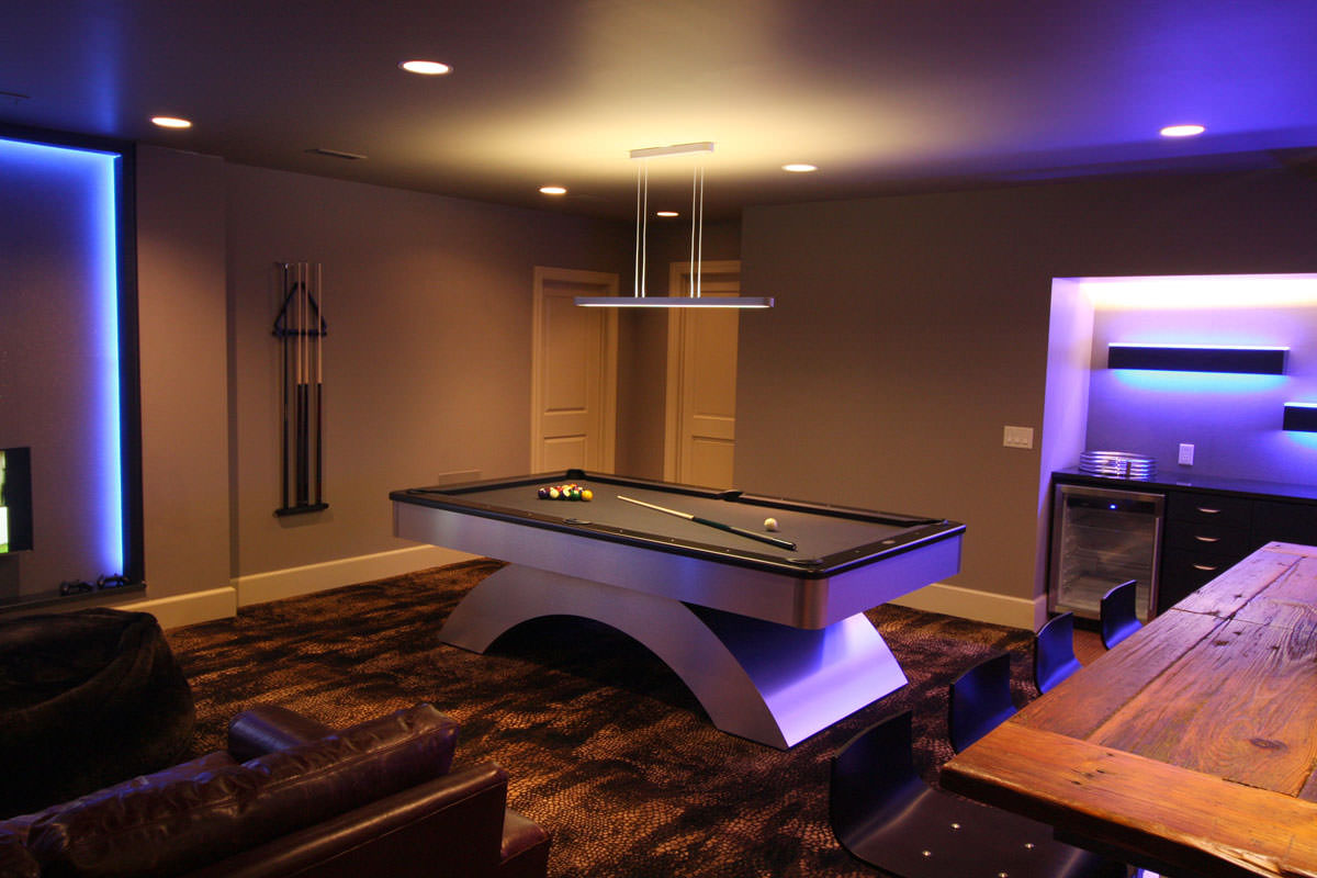 Home Interior Design Lighting Residential Bonus Room Interior Design David Hawkins